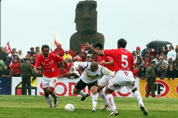 CF Rapa Nui contro Colo-Colo