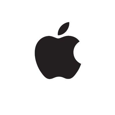 logo Apple immagine web pesce d'aprile