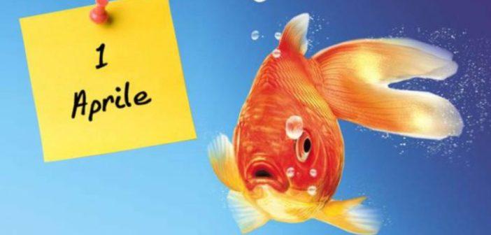 pesce d'aprile immagine web
