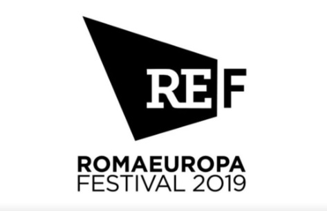 REF Romaeuropa Festival 2019. Nero in campo bianco.