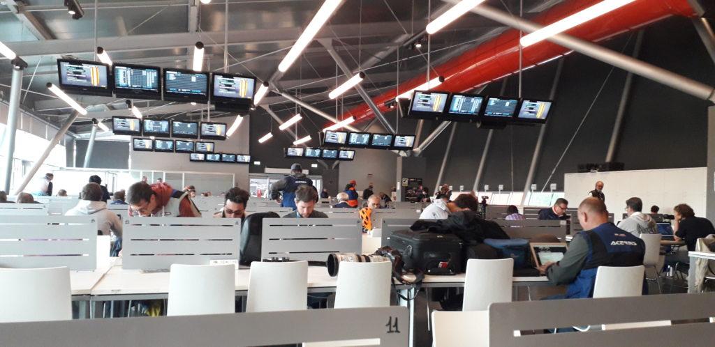 La prima esperienza di MMI nella tappa di Imola - Sala stampa Autodromo di Imola