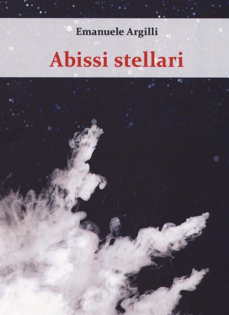 La copertina di Abissi Stellari mostra l'immagine in bianco e nero di una nebulosa, in tema con il genere fantascientifico del libro