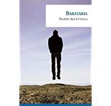 La copertina di Barataria di Filippo Accettella, mostra una foto surreale di un uomo sospeso a mezz'aria, richiamando le marionette del teatro di famiglia dell'autore.