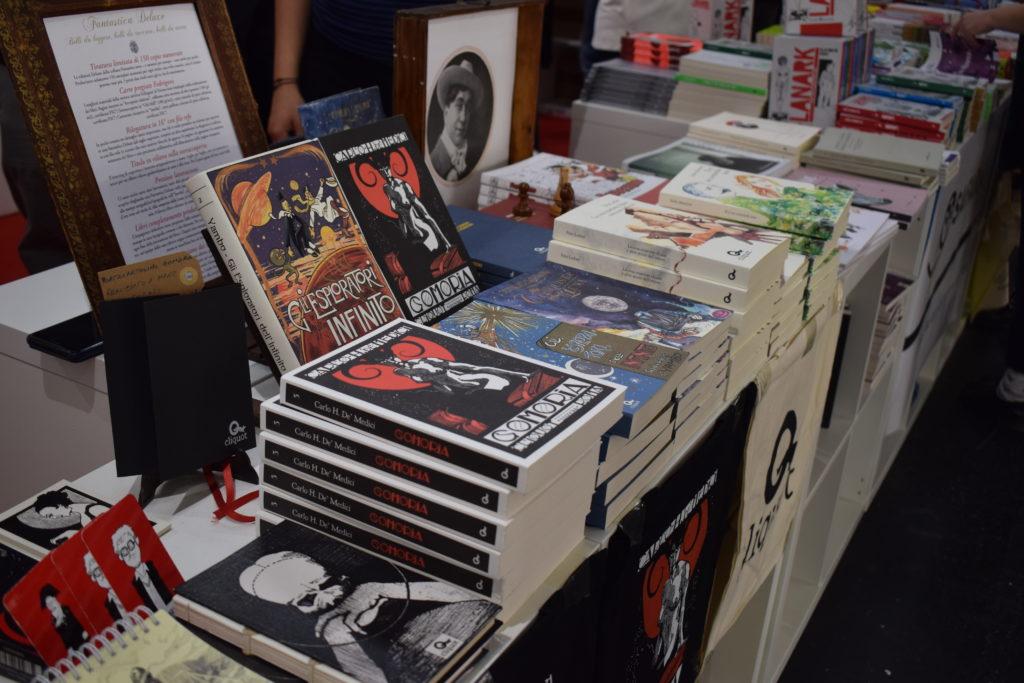 Cliquot al Salone del Libro (photo credits: Valeria Sittinieri)