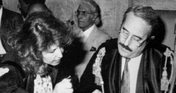 Giovanni Falcone e sua moglie Francesca Morvillo, morti nella strage di CapaciFrancesca Mo