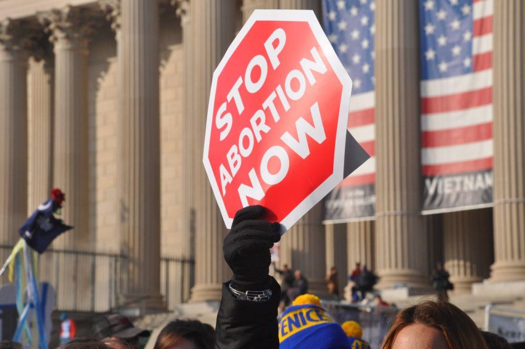 Manifestazione a favore dell'abolizione dell'aborto