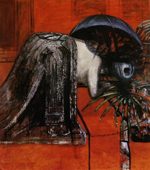 Vittorio Sgarbi - Francis Bacon - Head II (foto dal web)