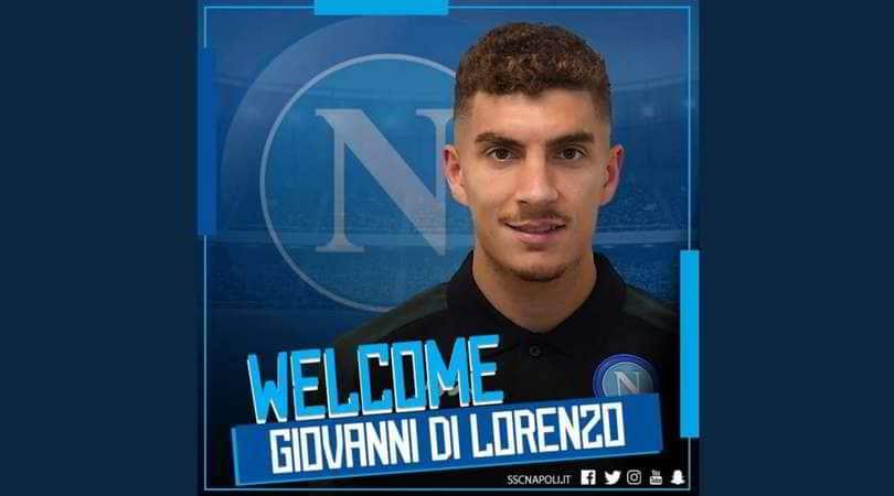 Giovanni Di Lorenzo, ufficializzato così sul profilo ufficiale Instagram del Napoli empoli
