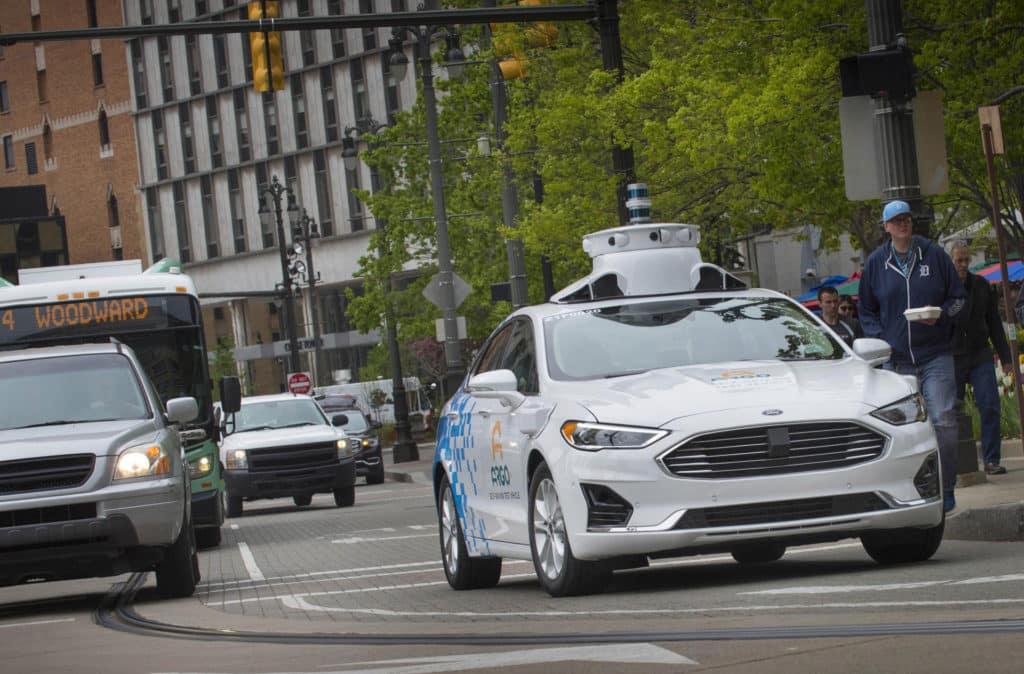 Guida Autonoma Ford Fusion Hybrid Argo AI