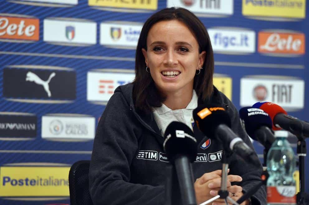 """""""Barbara Bonansea – Photo Credit: www.corriere.it"""" le azzurre della nazionale di calcio"""
