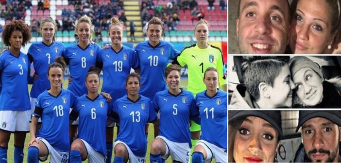 Le azzurre della Nazionale di calcio, vita privata e amori