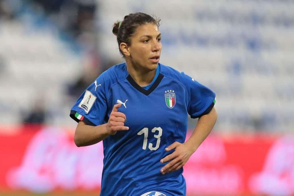 """""""Elisa Bartoli – Photo Credit: Emilio Andreoli/Getty Images"""" le azzurre della nazionale di calcio"""