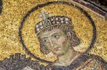 Costantino I in un mosaico, l'Editto di Milano ricorre il 13 giugno