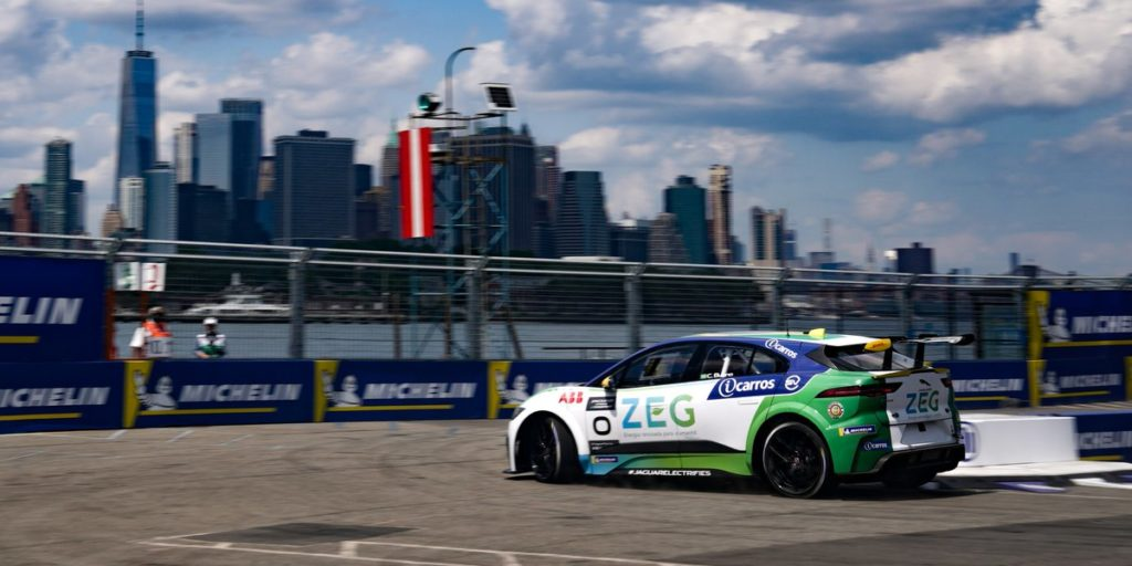 Jaguar eTrophy New York 2019 Caca Bueno