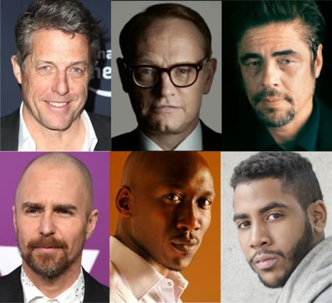 Attori candidati agli Emmy per miniserie o film TV.