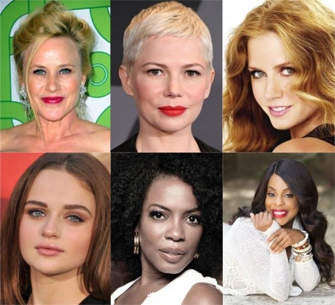 Attrici candidate agli Emmy per miniserie o film TV.