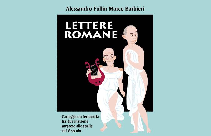 LETTERE ROMANE, LA LOCANDINA (C)  IL LAVORATORIO  Off Off Theatre e Vascello