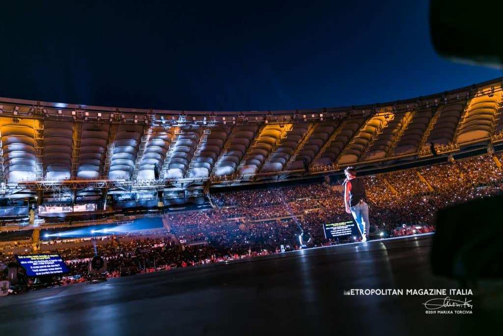 Ultimo allo Stadio Olimpico Ph ©Marika Torcivia