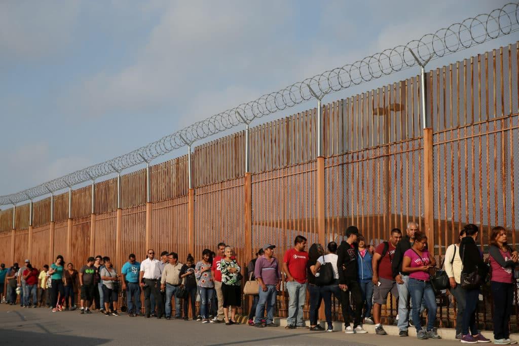 Immigrazione confine Usa-Messico