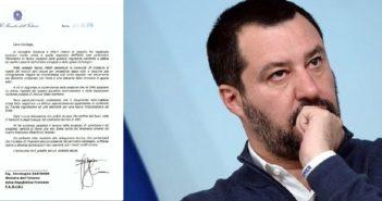 Migranti, la lettera di fuoco di Salvini incastra il governo francese