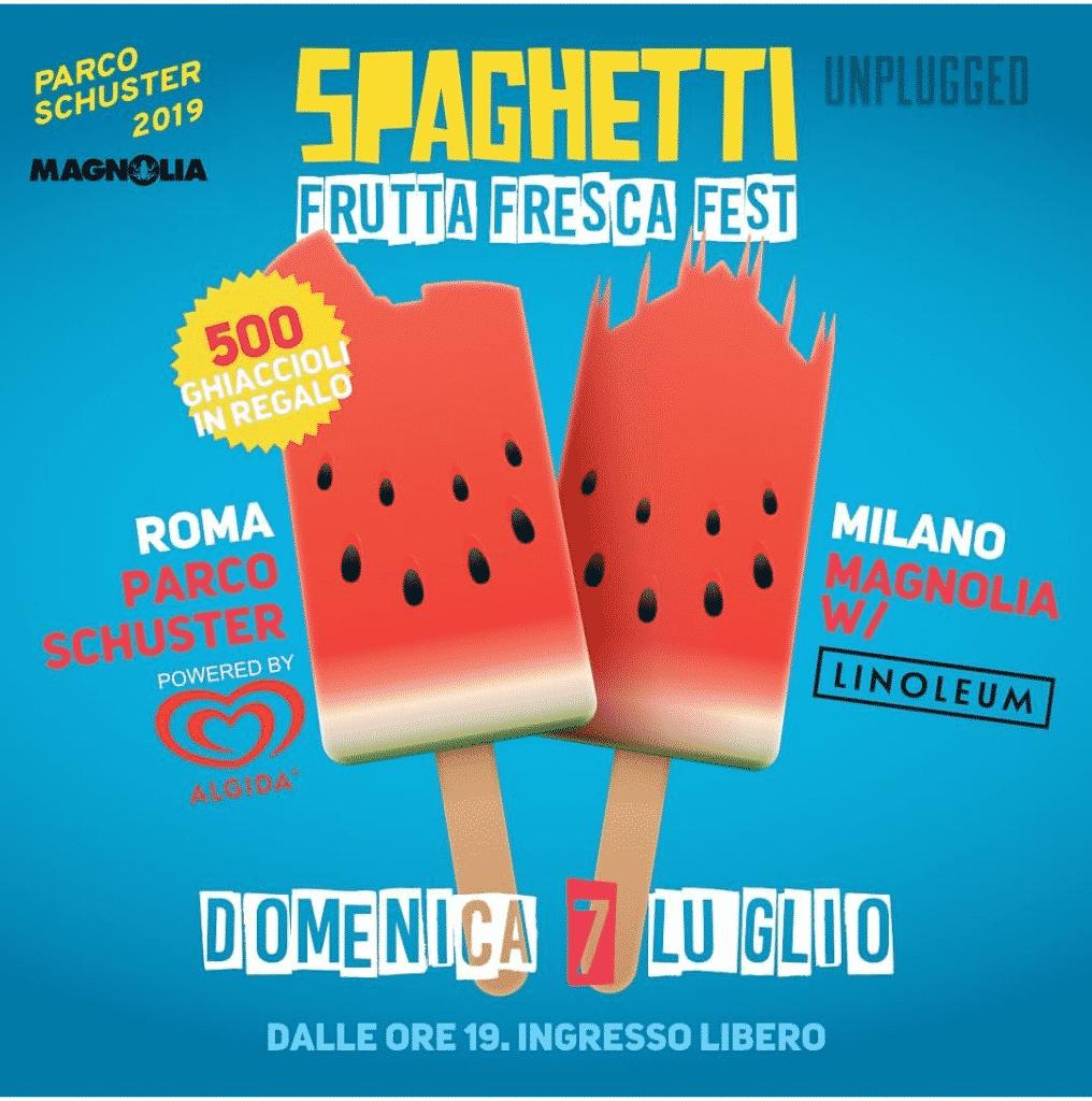 Frutta fresca fest - immagine gentilmente concessa dall'ufficio stampa di Spaghetti Unplugged