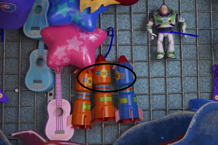 "Easter egg ""Palla Pixar""."