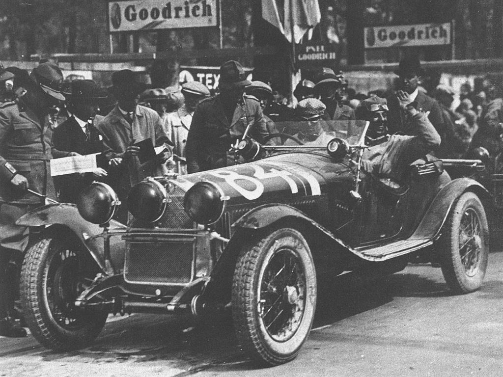Nuvolari e Guidotti vittoriosi alla Mille Miglia del 1930