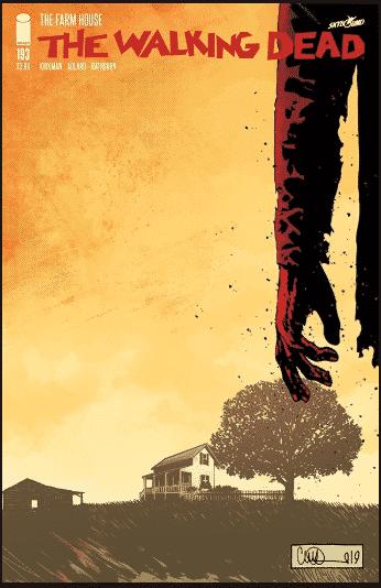 (Copertina The Walking Dead numero 193)