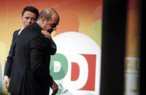 Matteo Renzi e Nicola Zingaretti (Panorama)