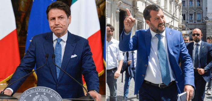 """Open Arms, Salvini cede a Conte: """"Ok sbarco di minori, mio malgrado"""""""