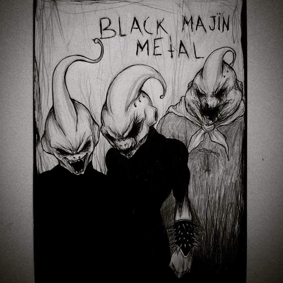 Black Majin Metal - Maxime Taccardi - Cartoni animati horror