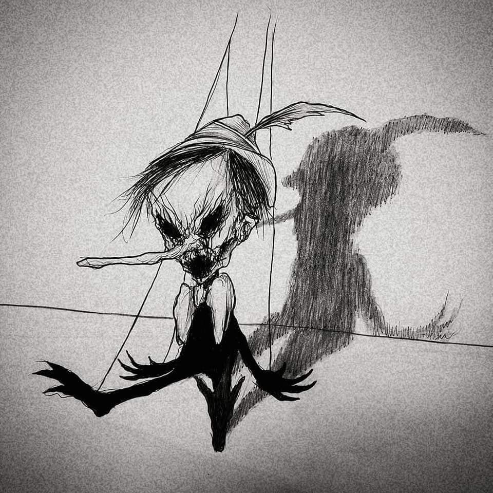Dark Pinocchio - Maxime Taccardi