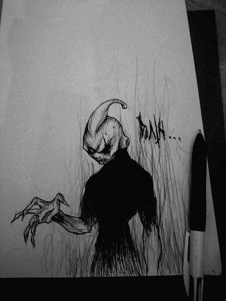 Death (Dragonball) - Maxime Taccardi - Cartoni animati horror