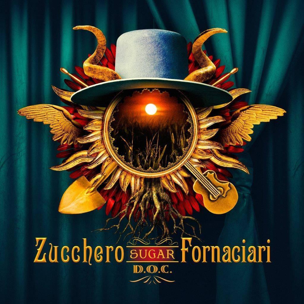 La cover del nuovo album di Zucchero, D.O.C - per gentile concessione di parole e dintorni