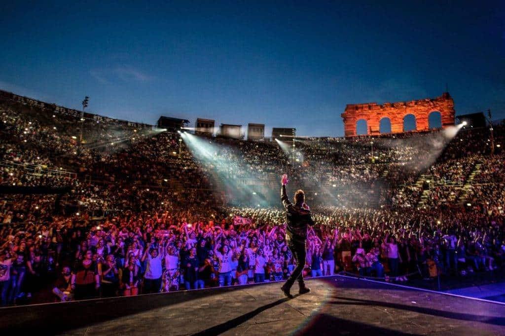 Cosa ci ha fatto l'amore: Nek Arena di Verona -Photo Credit: Francesco Prandoni