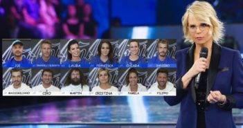 Amici Celebrities , I primi eliminato sono Martin Castrogiovanni e Chiara Giordano - immagine web