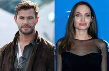 Angelina Jolie e Chris Hemsworth