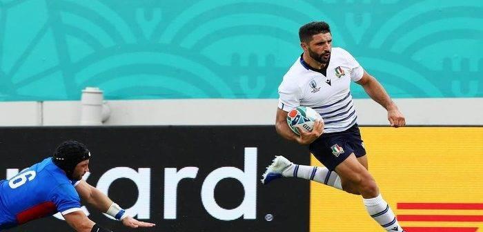 Rugby World Cup: L'Italia vince e vola in testa alla Pool B
