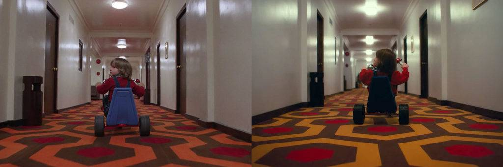 Confronto di un frame dei due film. Photo Credit: dal web