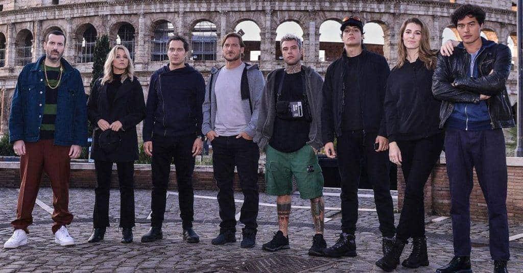 Gli otto concorrenti di Celebrity Hunted - Photo Credit: radiodeejay
