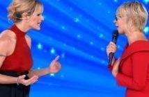 Michelle Hunziker e Maria De Filippi Conduzione Amici Celebrities